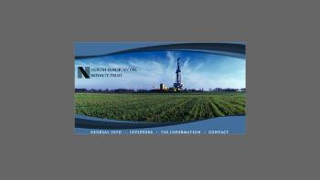 North European Oil Royalty Trust Website Screenshot