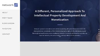 Network-1 Technologies, Inc. Website Screenshot