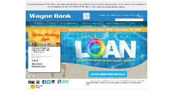 Norwood Financial Corp. Website Screenshot