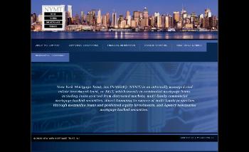 New York Mortgage Trust, Inc. Website Screenshot