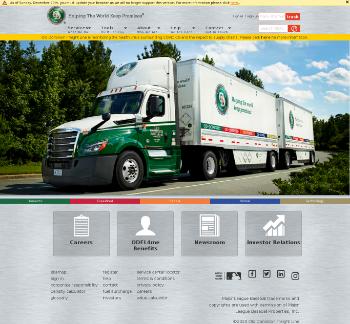 Old Dominion Freight Line, Inc. Website Screenshot