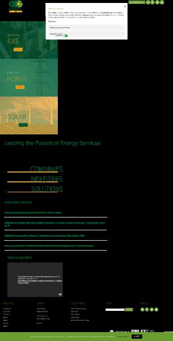 Orbital Energy Group, Inc. Website Screenshot