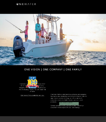 OneWater Marine Inc. Website Screenshot