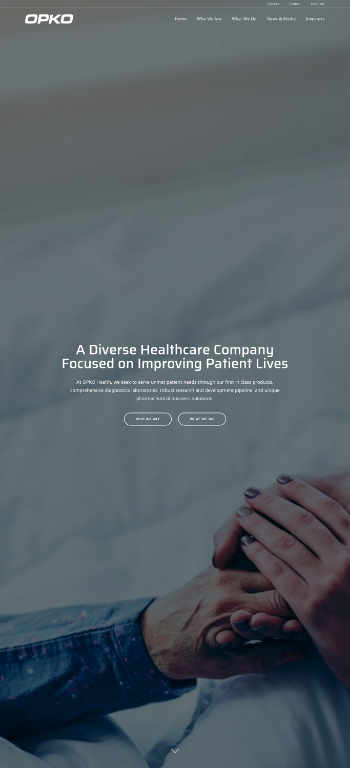 OPKO Health, Inc. Website Screenshot
