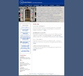 Old Republic International Corporation Website Screenshot