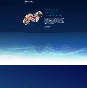 Otonomy, Inc. Website Screenshot