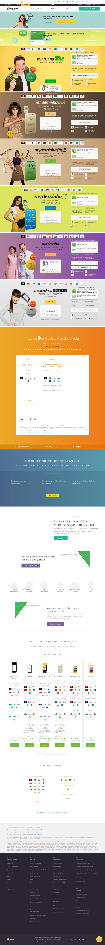 PagSeguro Digital Ltd. Website Screenshot