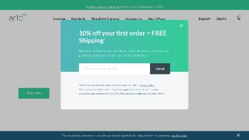 Arlo Technologies, Inc. Website Screenshot