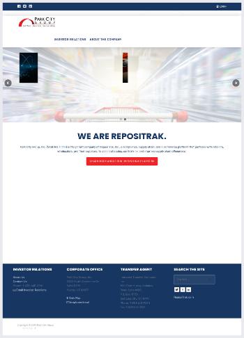 Park City Group, Inc. Website Screenshot