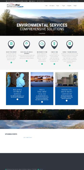 Perma-Fix Environmental Services, Inc. Website Screenshot