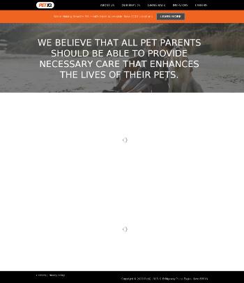 PetIQ, Inc. Website Screenshot
