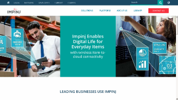 Impinj, Inc. Website Screenshot