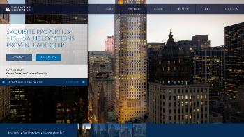 Paramount Group, Inc. Website Screenshot