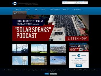 Preformed Line Products Company Website Screenshot