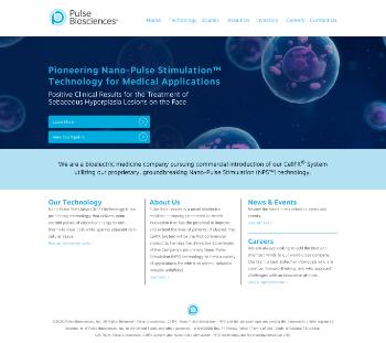 Pulse Biosciences, Inc. Website Screenshot