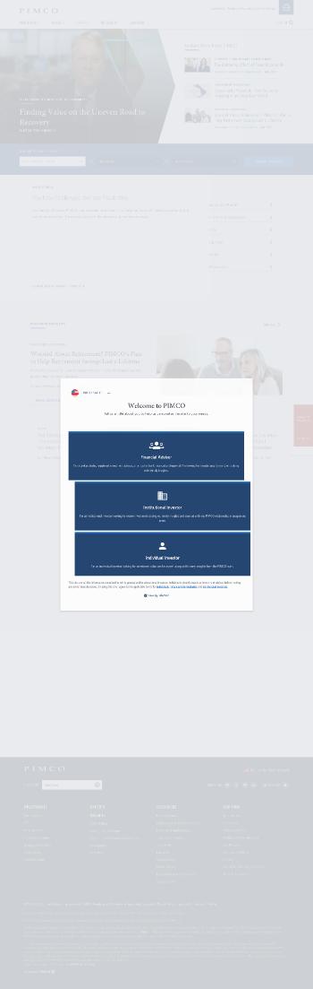 PIMCO Municipal Income Fund III Website Screenshot