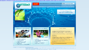Artesian Resources Corporation Website Screenshot