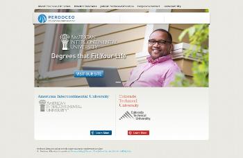 Perdoceo Education Corporation Website Screenshot