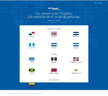 PriceSmart, Inc. Website Screenshot