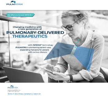 Pulmatrix, Inc. Website Screenshot
