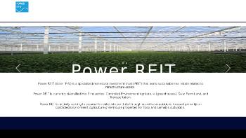 Power REIT Website Screenshot