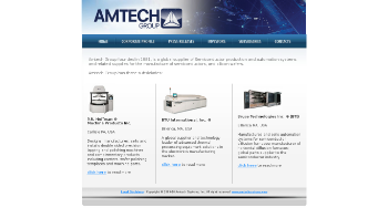Amtech Systems, Inc. Website Screenshot