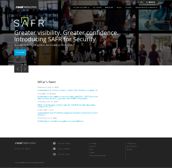 RealNetworks, Inc. Website Screenshot