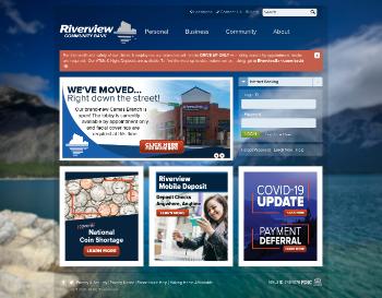Riverview Bancorp, Inc. Website Screenshot