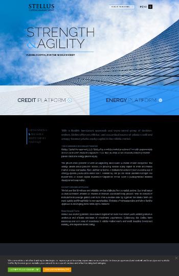 Stellus Capital Investment Corporation Website Screenshot
