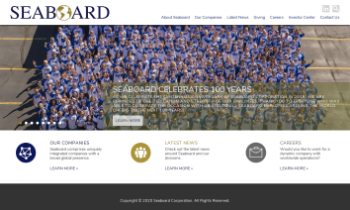 Seaboard Corporation Website Screenshot
