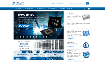 SMART Global Holdings, Inc. Website Screenshot