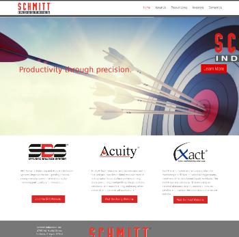 Schmitt Industries, Inc. Website Screenshot