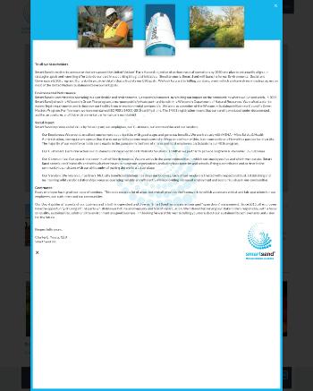 Smart Sand, Inc. Website Screenshot