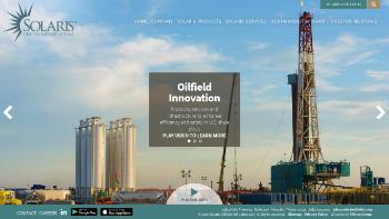 Solaris Oilfield Infrastructure, Inc. Website Screenshot