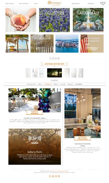 Sotherly Hotels Inc. Website Screenshot
