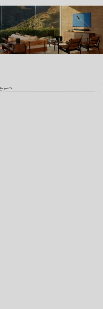 Sonos, Inc. Website Screenshot