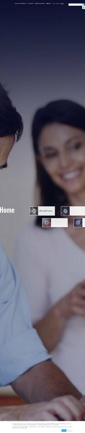 AudioCodes Ltd. Website Screenshot