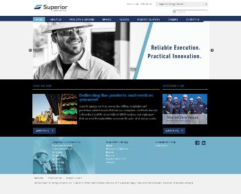 Superior Energy Services, Inc. Website Screenshot