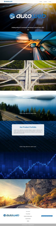 AutoWeb, Inc. Website Screenshot