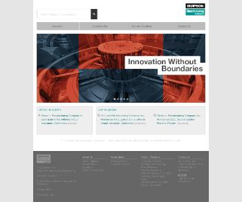 Simpson Manufacturing Co., Inc. Website Screenshot
