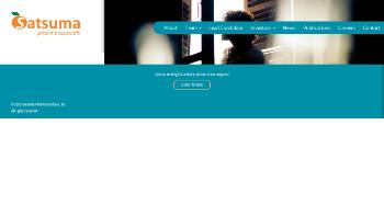 Satsuma Pharmaceuticals, Inc. Website Screenshot