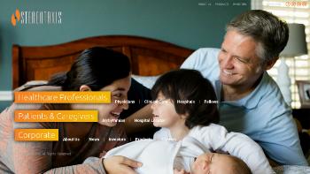 Stereotaxis, Inc. Website Screenshot