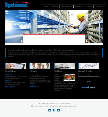 Systemax Inc. Website Screenshot