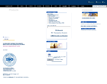 Taitron Components Incorporated Website Screenshot