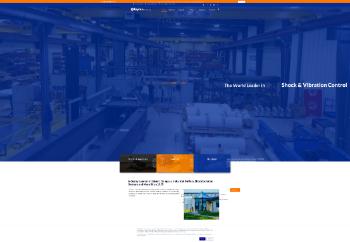 Taylor Devices, Inc. Website Screenshot