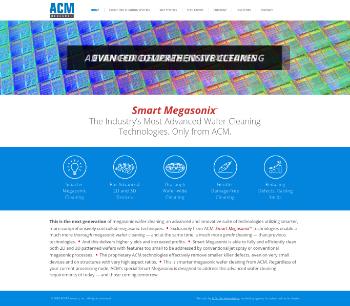 ACM Research, Inc. Website Screenshot