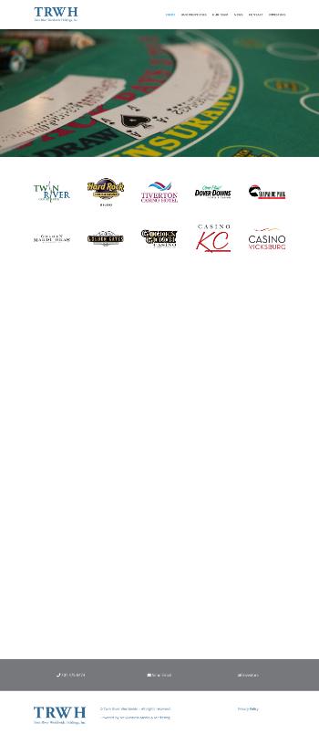 Twin River Worldwide Holdings, Inc. Website Screenshot