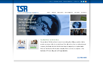 TSR, Inc. Website Screenshot