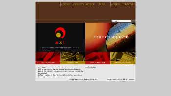 AXT, Inc. Website Screenshot