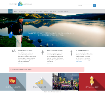 Atlantic American Corporation Website Screenshot